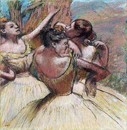 Degas   Three Dancers, c.1899   Giclée Paper Print