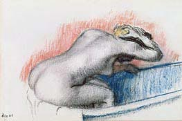 Degas | Woman Washing in the Bath, c.1892 | Giclée Paper Print