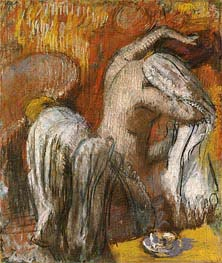 Degas | Woman Drying Herself, undated | Giclée Paper Print