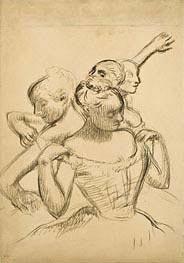 Degas | Group of Four Dancers, c.1902 | Giclée Paper Print
