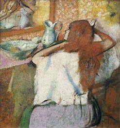 Degas | Woman at her Toilet, c.1895/00 | Giclée Canvas Print