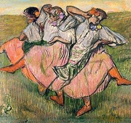 Degas | Three Russian Dancers, undated | Giclée Paper Print