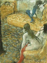Degas | Waiting for a Client, undated | Giclée Paper Print