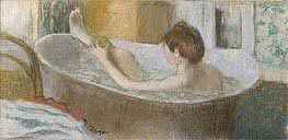 Degas | Woman in her Bath, Sponging her Leg, c.1883 | Giclée Paper Print