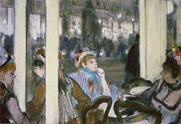 Degas | Women on a Cafe Terrace, 1877 | Giclée Paper Print