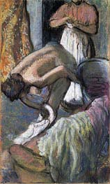 Degas | Breakfast After the Bath (Young Woman Drying Herself), c.1894 | Giclée Paper Print