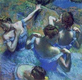 Degas | Blue Dancers, c.1899 | Giclée Paper Print