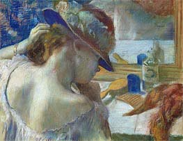Degas | In Front of the Mirror, 1889 | Giclée Paper Print