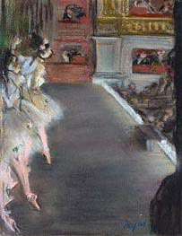 Degas | Dancers at the Old Opera House, c.1877 | Giclée Paper Print