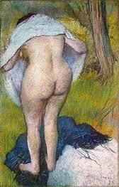 Degas | Girl Drying Herself | Giclée Paper Print