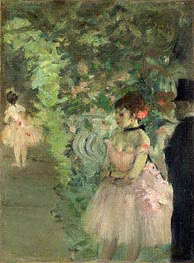 Degas | Dancers Backstage | Giclée Paper Print