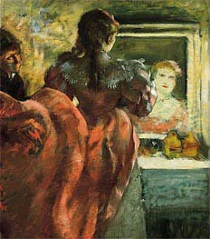 Degas | Actress in Her Dressing Room, c.1879 | Giclée Canvas Print