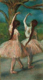 Degas | Dancers in Pink | Giclée Canvas Print
