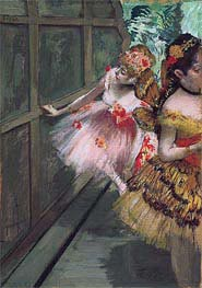 Degas | Dancers in the Wings | Giclée Canvas Print