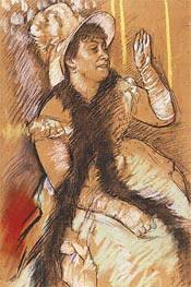 Degas | Portrait of Madame Dietz-Monnin, 1879 | Giclée Paper Print