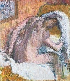 Degas | Woman Drying Her Hair, c.1905 | Giclée Paper Print