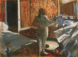 Degas | Woman Drying Herself After the Bath, c.1876/77 | Giclée Paper Print