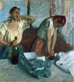 Degas | Women Ironing, c.1884 | Giclée Canvas Print