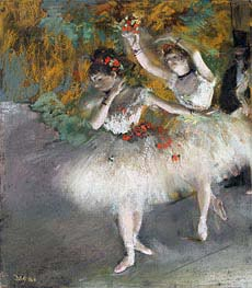Degas | Two Dancers Entering the Stage, c.1877/78 | Giclée Paper Print