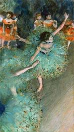 Degas | Swaying Dancer (Dancer in Green), c.1877/79 | Giclée Paper Print