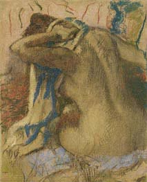 Degas | Woman Drying Her Hair | Giclée Paper Print