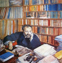 Degas | Edmond Duranty | Giclée Canvas Print