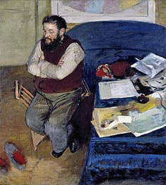 Degas | Diego Martelli | Giclée Canvas Print