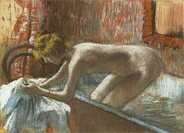 Degas | Woman Leaving Her Bath | Giclée Canvas Print