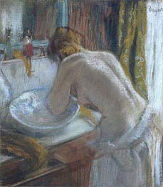 Degas | The toilet | Giclée Canvas Print