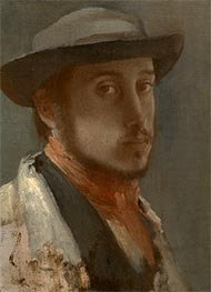Degas | Self-Portrait | Giclée Canvas Print