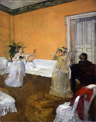 The Song Rehearsal, c.1872/73 | Degas | Painting Reproduction