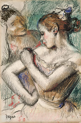 Dancer, 1896 | Degas | Painting Reproduction