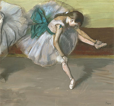 Dancer at Rest, c.1879 | Degas | Painting Reproduction