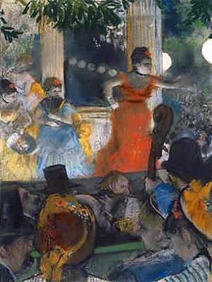 The Cafe-Concert des Ambassadeurs, c.1876/77 | Degas | Painting Reproduction