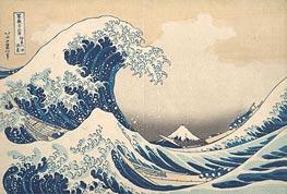 The Great Wave at Kanagawa, c.1830/32 by Hokusai | Giclée Paper Print