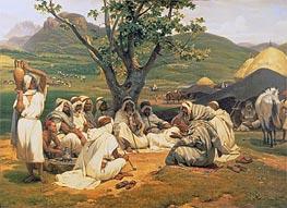 Horace Vernet | The Arab Tale-Teller, 1833 | Giclée Canvas Print