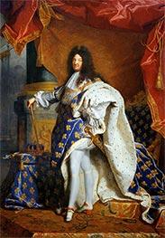 Hyacinthe Rigaud | Portrait of Louis XIV of France, c.1701/02 | Giclée Canvas Print