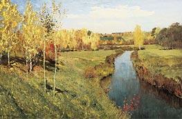 Isaac Levitan | Golden Autumn | Giclée Canvas Print