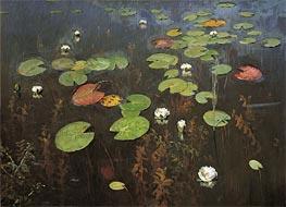 Isaac Levitan | Water Lilies | Giclée Canvas Print
