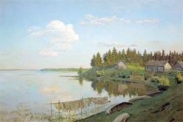 Isaac Levitan | On Lake (The Tver Province) | Giclée Canvas Print