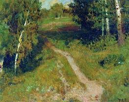 Birch Grove By Levitan Isaac Giclee Canvas Print