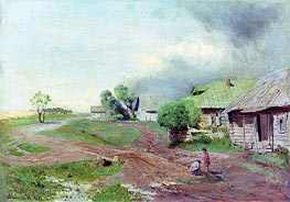 Isaac Levitan | Before the Storm, 1879 | Giclée Canvas Print