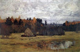 Isaac Levitan | Late Autumn, c.1894/98 | Giclée Canvas Print