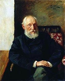 Isaac Levitan | Portrait of Panafidin, 1891 | Giclée Canvas Print