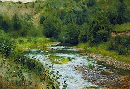 Isaac Levitan | Small River, 1888 | Giclée Canvas Print