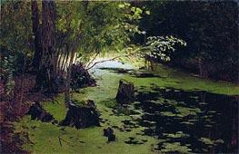 Isaac Levitan | Pond, Undated | Giclée Canvas Print