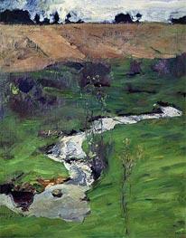 Isaac Levitan | Stream, 1899 | Giclée Canvas Print