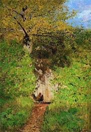 Isaac Levitan | Footpath, 1880 | Giclée Canvas Print