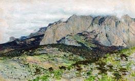 Ai-Petri, 1886 by Isaac Levitan | Giclée Canvas Print