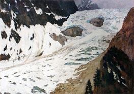 Alps. Snow, 1897 by Isaac Levitan | Giclée Canvas Print